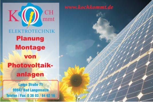 Kochkommt Photovoltaik